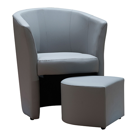 fauteuil cabriolet avec pouf table de lit a roulettes. Black Bedroom Furniture Sets. Home Design Ideas