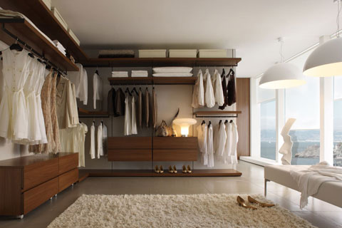 comment cr er un dressing dans votre chambre terre meuble. Black Bedroom Furniture Sets. Home Design Ideas