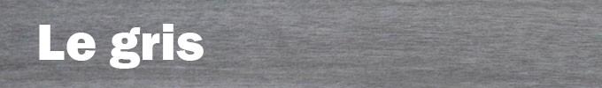 Bois teinté en gris