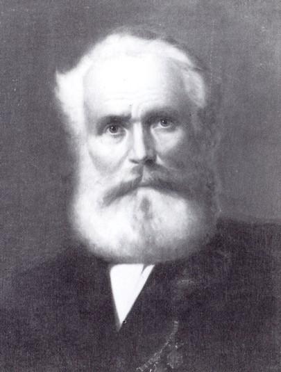 Portrait de Michael THONET (1796 – 1871) - Crédit wikipedia