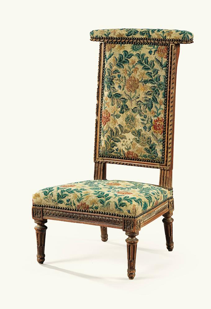 Voyelle de dame époque Louis XVI estampillée I.B SENE - Crédit sothebys.com