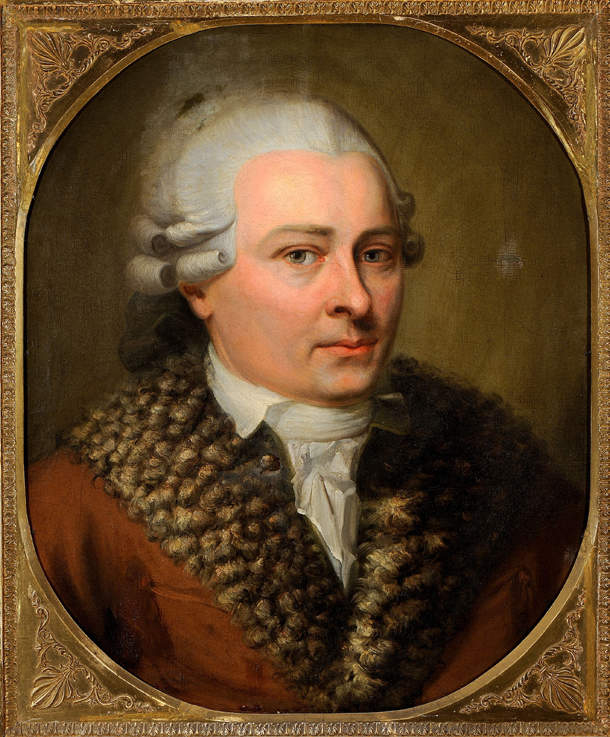 Portrait de David ROENTGEN (1743 - 1807)