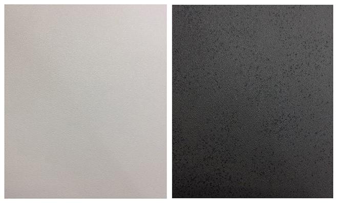 Exemple de deux coloris de céramique - Crédit internet