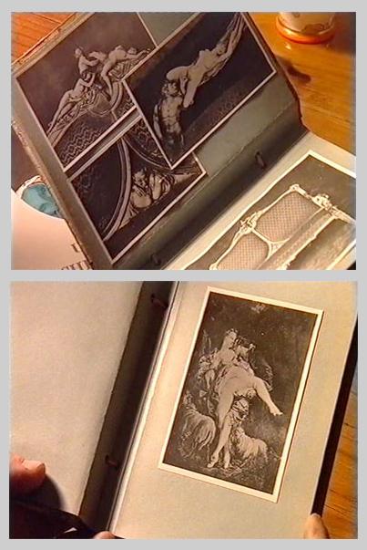 Détails de l'album photo du cabinet érotique