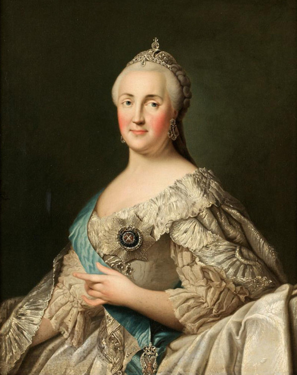 Portrait de Catherine II la Grande (1729 - 1796)