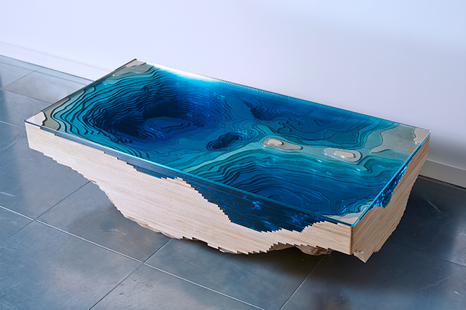 Abyss Table par Duffy London - Crédit DUFFY LONDON