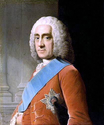 Lord Philip Stanhope, 4eme Comte de Chesterfield (1694-1773)