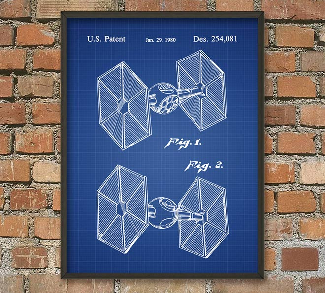 63-Poster-plan-Star-Wars-Tie-Fighter-impérial