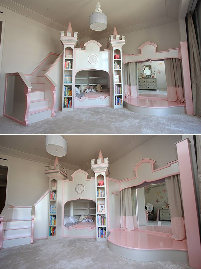 Princess Castle Bed - Design Jason Hulfish