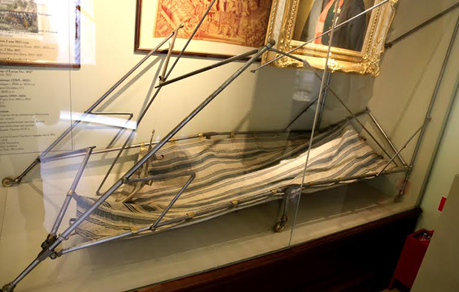 Partie des bagages impériaux capturés par les troupes russes à la bataille de Borodino en 1812 - Musée de Borodino