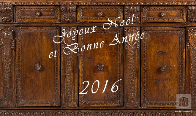 Terre Meuble vous souhaite de joyeuses fêtes et une bonne année 2016