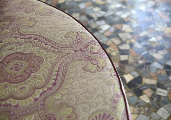 Magnifique tissu d'assise - © ARTEX
