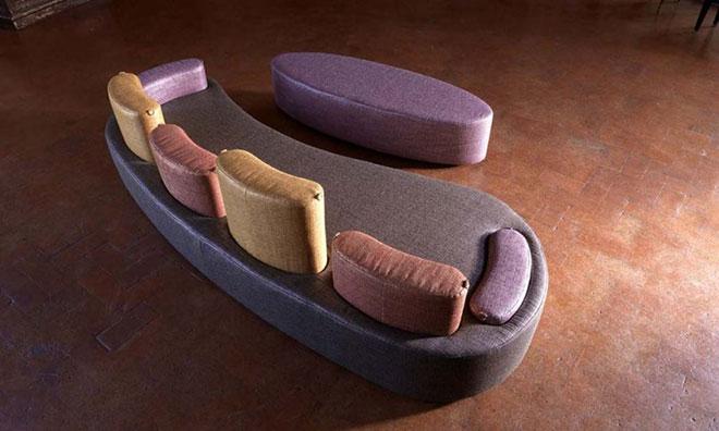canap contemporain au design exceptionnel terre meuble. Black Bedroom Furniture Sets. Home Design Ideas