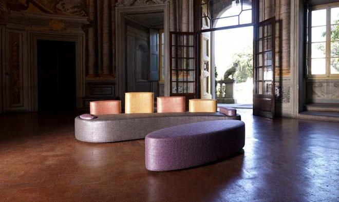 Le canapé SU&GIÙ par Artex Italia - © ARTEX