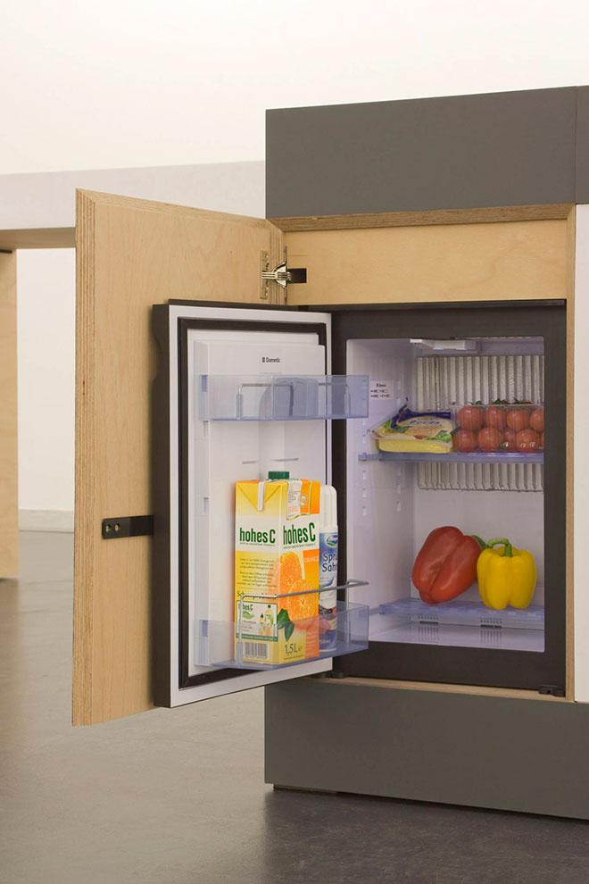Le mini réfrigérateur - © Kristin Laass et Norman Ebelt