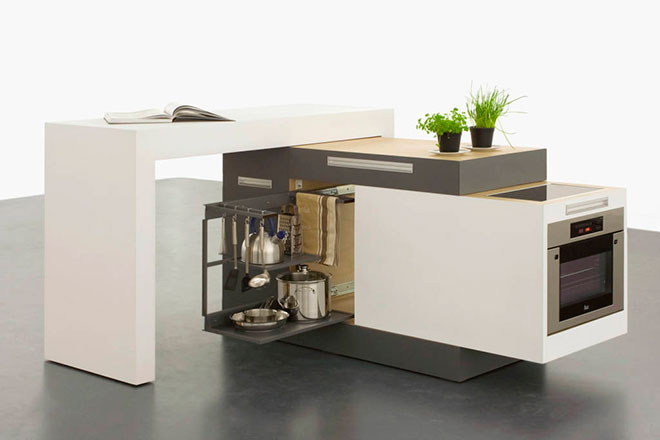 La Small Kitchen ouverte - © Kristin Laass et Norman Ebelt