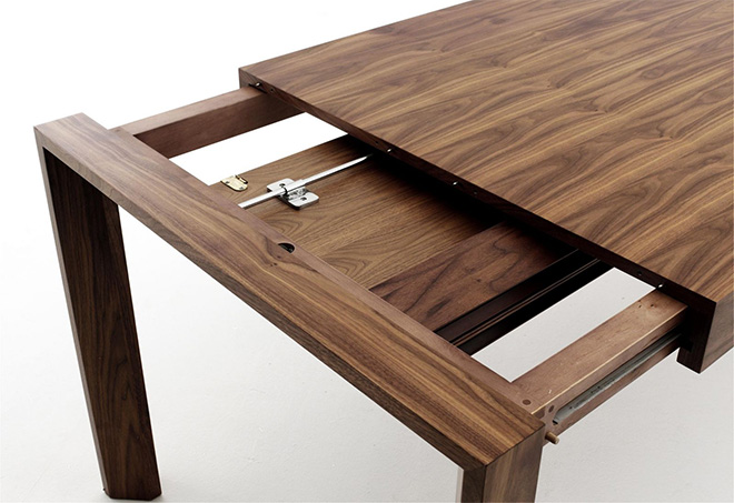 Mecanisme Table Extensible table repas extensible et rallonge papillon   terre meuble