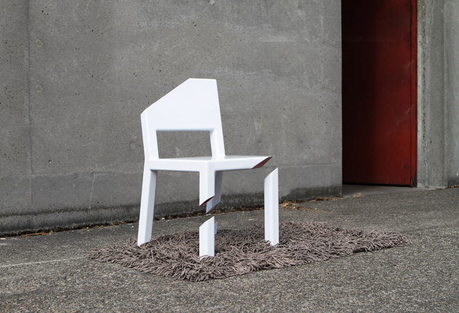 La Cut Chair - © Peter Bristol