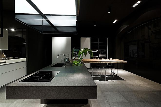 Cuisine Aménagée Moderne cuisine équipée moderne haut de gamme boffi | terre meuble