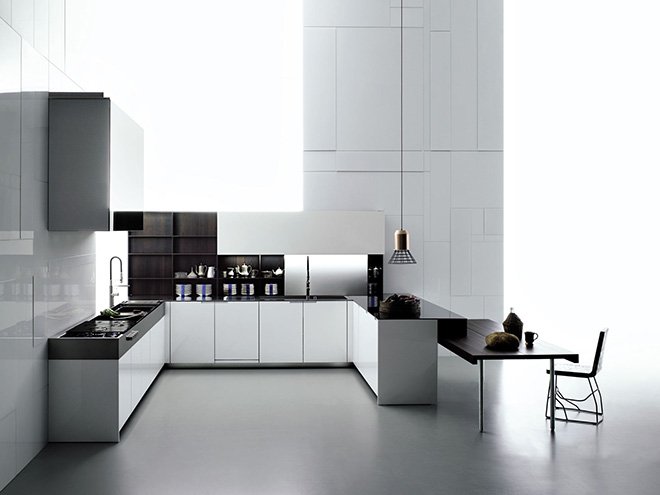 cuisine quip e moderne haut de gamme boffi terre meuble