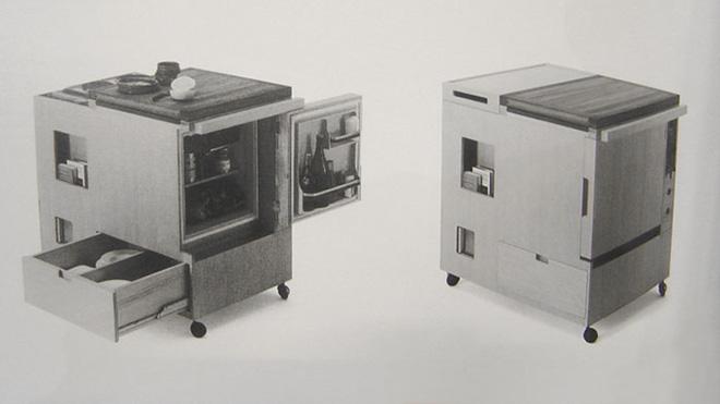La Mini Kitchen créée par Joe Colombo pour Boffi en 1963 - © BOFFI