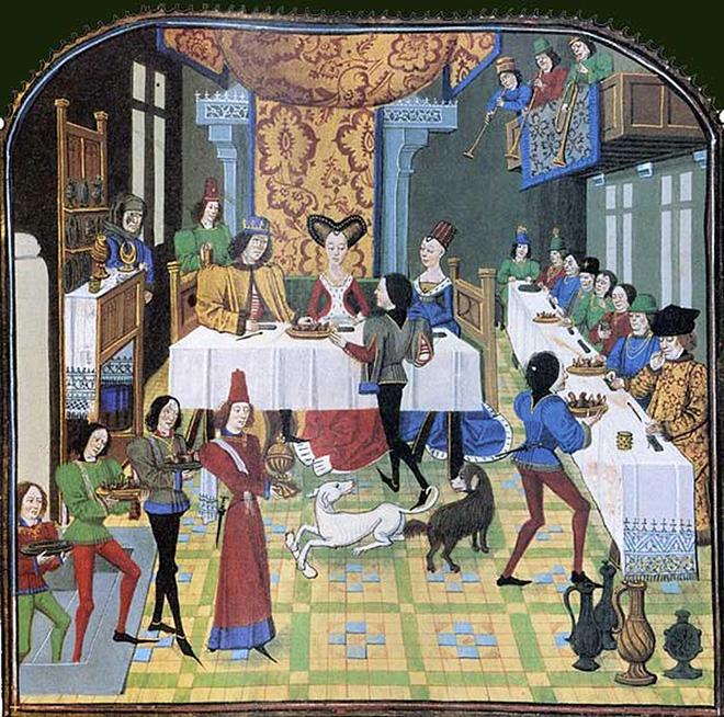 Histoire d'Olivier de Castille et d'Artus d'Algarbe - Manuscrit français 15eme siècle - Crédit : BnF